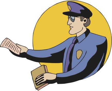Police Officer & Citation 1