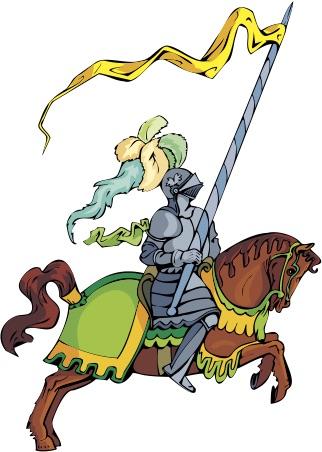 Knight on Horse 10