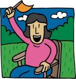 Woman Cheering 2