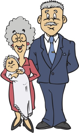 Baby & Grandparents