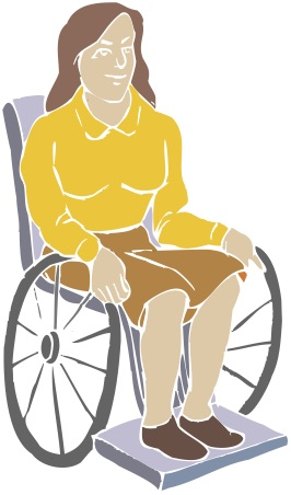 Woman in Wheelchair 3